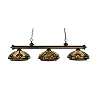 Z-Lite Templeton 3 Light Island/Billiard in Olde Bronze 100703OB-Z14-9 photo thumbnail