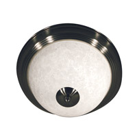 Z-Lite Huntingdale 1 Light Flush Mount in Brushed Nickel 100F11-BN photo thumbnail