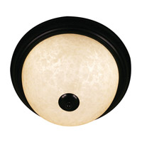 Z-Lite Huntingdale 3 Light Flush Mount in Bronze 100F15-BRZ