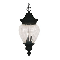 Z-Lite Devonshire 3 Light Outdoor Chain Light in Black 1176CH-BK