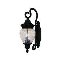Z-Lite Devonshire 2 Light Outdoor Wall Light in Black 1176M-BK