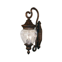 Z-Lite Devonshire 2 Light Outdoor Wall Light in Weathered Bronze 1176M-WB