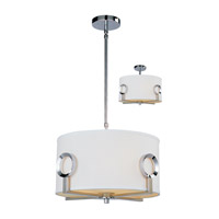 Z-Lite Delta 3 Light Pendant in Polished Stainless Steel 1203-15C