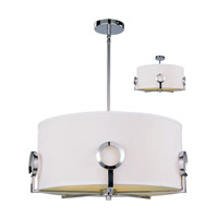 Z-Lite Delta 3 Light Pendant in Polished Stainless Steel 1203-20C photo thumbnail