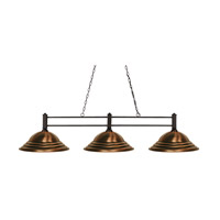 Challenger 3 Light 16 inch Bronze Island Light Ceiling Light