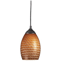 Z-Lite Jazz 1 Light Mini Pendant in Sand Black 131-CARMEL