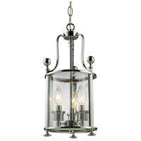 Z-Lite 134-3 Wyndham 3 Light 9 inch Chrome Pendant Ceiling Light