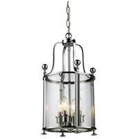Z-Lite 134-4 Wyndham 4 Light 12 inch Chrome Pendant Ceiling Light
