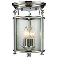 Z-Lite Wyndham 3 Light Pendant in Chrome 134F