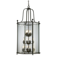 Z-Lite Wyndham 12 Light Pendant in Bronze 135-12