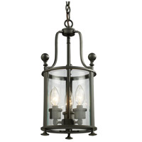 Z-Lite 135-3 Wyndham 3 Light 9 inch Bronze Pendant Ceiling Light