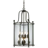 Z-Lite Wyndham 8 Light Pendant in Bronze 135-8
