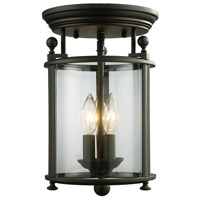 Z-Lite Wyndham 3 Light Pendant in Bronze 135F