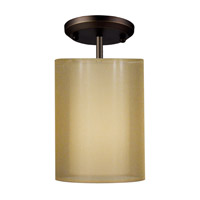 Z-Lite Nikko 1 Light Ceiling in Olde Bronze/Gold 144-6G-SF