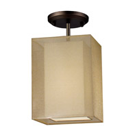 Z-Lite Nikko 1 Light Ceiling in Olde Bronze/Gold 145-6G-SF
