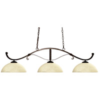 Z-Lite Howler 3 Light Billiard in Bronze 148BRZ-DGM14