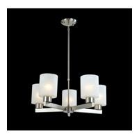 Z-Lite Cobalt 5 Light Chandelier in Brushed Nickel 152-5