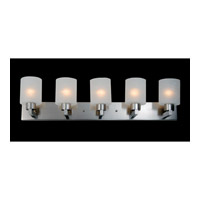 Z-Lite Cobalt 5 Light Vanity in Brushed Nickel 152-5V