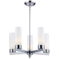 Ibis 5 Light 20 inch Chrome Chandelier Ceiling Light