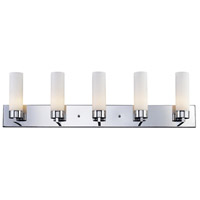 Z-Lite 163-5V Ibis 5 Light 40 inch Chrome Vanity Wall Light