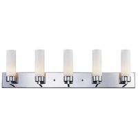 Z-Lite 163-5V Ibis 5 Light 40 inch Chrome Vanity Wall Light