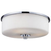 Z-Lite 163F-2 Ibis 2 Light 11 inch Chrome Flush Mount Ceiling Light