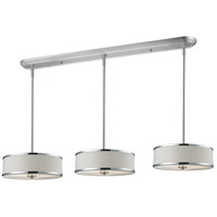 Cameo 9 Light 60 inch Chrome Billiard/Island Ceiling Light in 16
