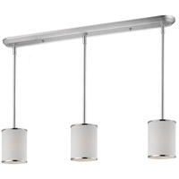 Z-Lite 164-6-3 Cameo 3 Light 48 inch Chrome Island Light Ceiling Light in 6