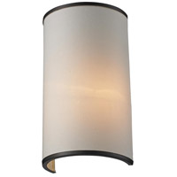 Z-Lite Cameo 1 Light Wall Sconce in Crme/Bronze 165-1S