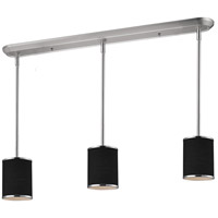 Z-Lite 168-6-3 Cameo 3 Light 48 inch Chrome Island Light Ceiling Light in 6