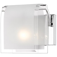 Z-Lite Zephyr 1 Light Wall Sconce in Chrome 169-1S