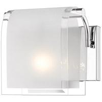 Z-Lite 169-1S Zephyr 1 Light 8 inch Chrome Wall Sconce Wall Light