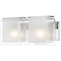 Z-Lite Zephyr 2 Light Vanity in Chrome 169-2V
