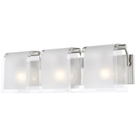Z-Lite Zephyr 3 Light Vanity Light in Brushed Nickel 169-3V-BN