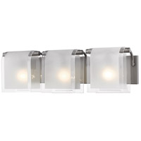 Z-Lite Zephyr 3 Light Vanity Light in Factory Bronze 169-3V-FB