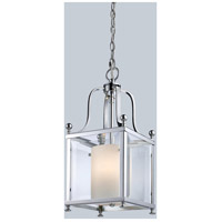 Z-Lite 176-3S Fairview 3 Light 8 inch Chrome Pendant Ceiling Light in 8.25