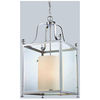 Z-Lite 176-6 Fairview 6 Light 16 inch Chrome Pendant Ceiling Light
