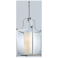 Z-Lite 176-8 Fairview 8 Light 19 inch Chrome Pendant Ceiling Light