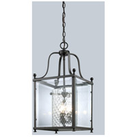 Fairview 3 Light 11 inch Bronze Pendant Ceiling Light