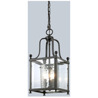 Z-Lite 177-3S Fairview 3 Light 8 inch Bronze Pendant Ceiling Light in 8.25