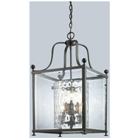 Z-Lite Fairview 6 Light Pendant in Bronze 177-6