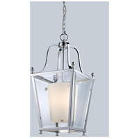 Ashbury 3 Light 11 inch Chrome Pendant Ceiling Light