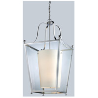 Z-Lite 178-6 Ashbury 6 Light 19 inch Chrome Pendant Ceiling Light
