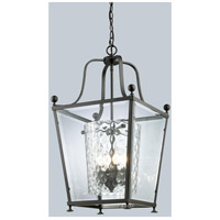 Z-Lite Ashbury 3 Light Pendant in Bronze 179-3