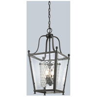 Z-Lite Ashbury 4 Light Pendant in Bronze 179-4