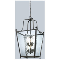Ashbury 6 Light 19 inch Bronze Pendant Ceiling Light