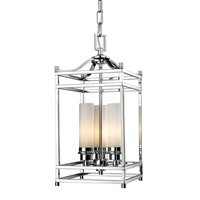 Altadore 3 Light 9 inch Chrome Pendant Ceiling Light