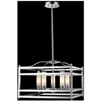 Z-Lite Altadore 5 Light Pendant in Chrome 180-5
