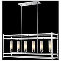 Z-Lite Altadore 6 Light Pendant in Chrome 180-6