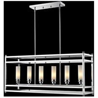 Z-Lite 180-6 Altadore 6 Light 10 inch Chrome Pendant Ceiling Light